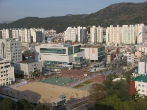 Pusan National University Main Campus View